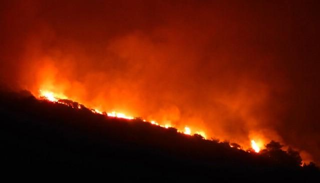 Još gori kod Plomina, kuće obranjene, izgorjelo više od 300 ha šume i niskog raslinja