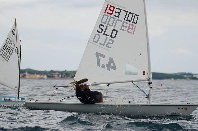 Paola Miletić osvojila drugo mjesto na otvorenom prvnstvu Grada Poreča u klasi Laser 4.7