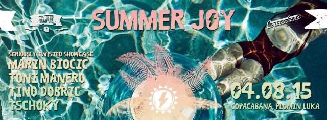 SUMMER JOY w/ SERIOUSLY TWISTED @ Copacabana, Plomin Luka 04.08.2015.