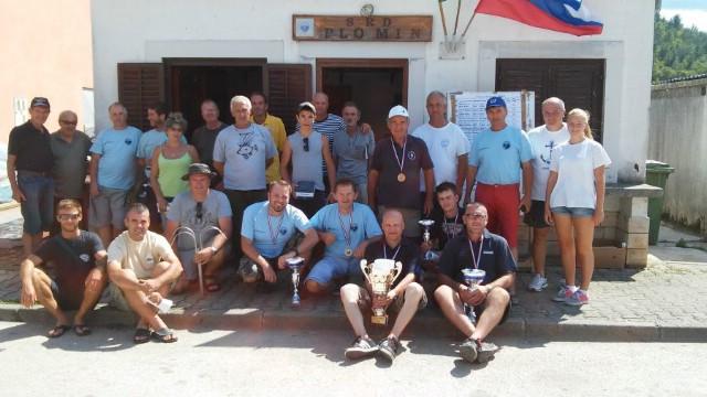 Održano natjecanje u sportskom ribolovu  Trofej Plomin 2015