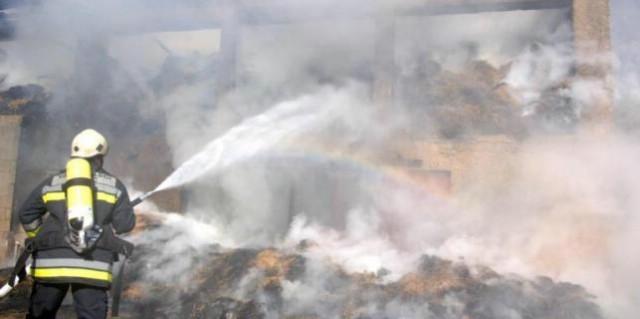 Manja munja izazvala požar kod Ružići u Općini Sveta Nedelja - izgorjelo 2,7 hektara trave i niskog raslinja