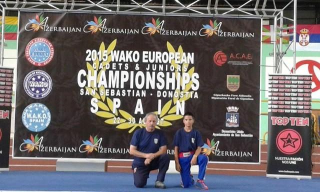Filip Grbić bez odličja na europskom prvenstvu u kickboxingu za juniore4 i kadete u Španjolskoj