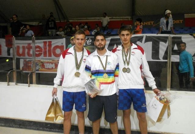 Mateu Načinoviću dvije bronce na Svjetskom boćarskom juniorskom prvenstvu
