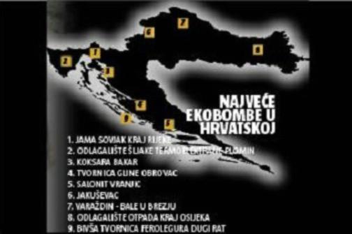 Ova su mjesta najveće ekobombe u Hrvatskoj