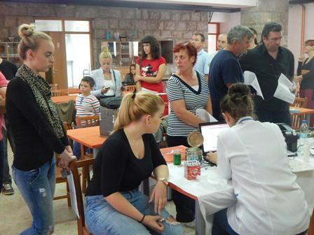 Na dobrovoljnoj akciji darivanja u Labinu prikupljeno 67 doza krvi