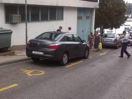 Provedena kontrola parkirnih mjesta za osobe s invaliditetom