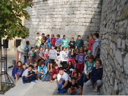 Obilazak Starog grada učenika Osnovne škole Matije Vlačića