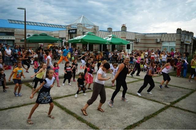 Labin plesao točno kraj centra