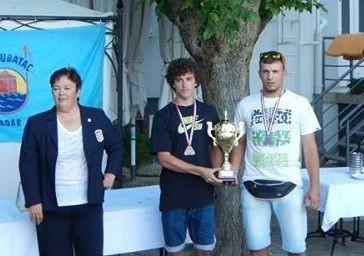 Dilan Mileta prvak Hrvatske za 2015. godinu na državnom prvenstvu u ribolovu U21 štap s obale