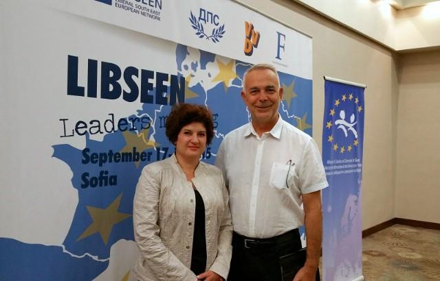 Potpredsjednica IDS-a Glorija Paliska Bolterstein na sastanku čelnika LIBSEEN-a