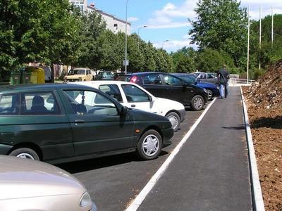 Novo parkiralište Doma zdravlja u Labinu