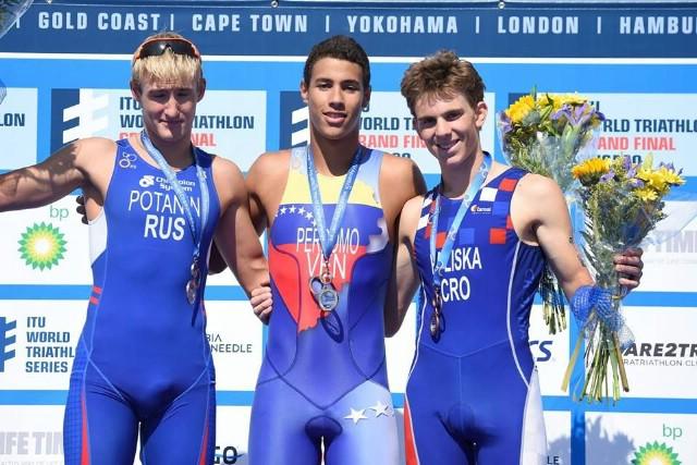 Luka Paliska treći na svjetskom prvenstvu u aquatlonu