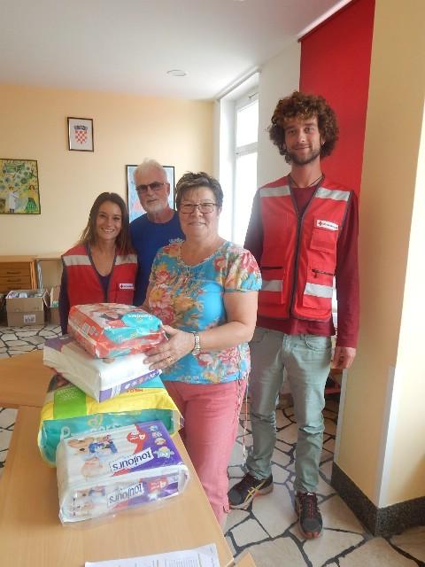 Crveni križ Labin nastavlja s pomoći izbjeglicama