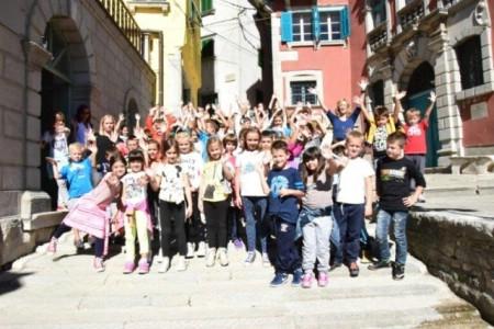 Učenici produženog boravka posjetili Gradsku galeriju Labin