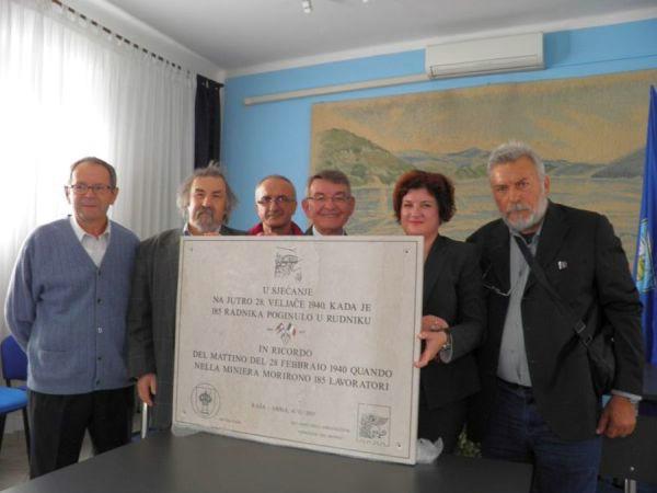 Udruga `Veneziani nel Mondo` u spomen na stradale rudare