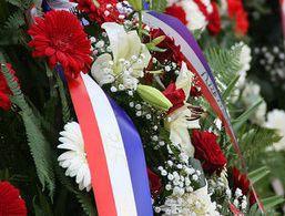 Polaganjem vijenaca obilježen Dan neovisnosti Republike Hrvatske