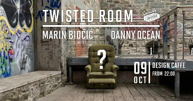 TWISTED ROOM w/ Marin Biočić & Danny Ocean @ Design Caffe, Labin 09.10.2015.