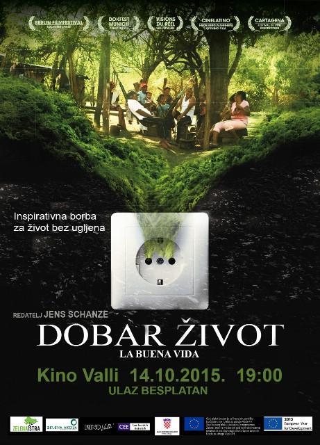 """Premijera dokumentarnog filma """"Dobar život"""", Kino Valli, Pula 14.10., 19:00 (ulaz besplatan)"""