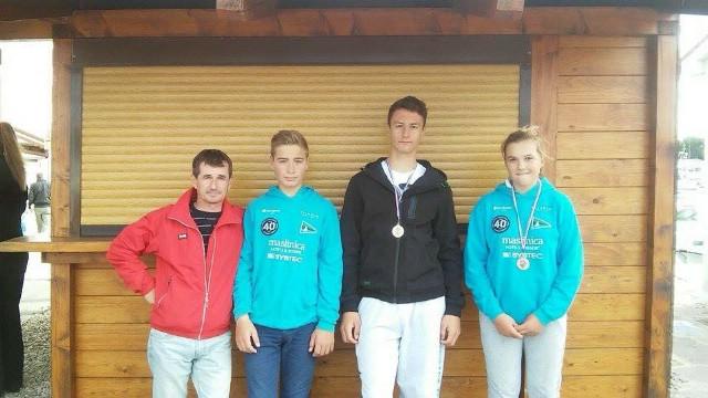 Leon Kalac osvojio drugo a Paola Miletić treće mjesto na Otvorenom prvenstvu Istarske županije za klasu Laser 4.7 i Laser Radial