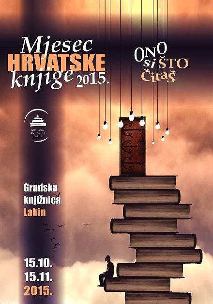 Mjesec hrvatske knjige 2015. u Gradskoj knjižnici Labin