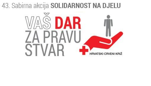 Labin: U četvrtak i petak 43. akcija `Solidarnost na djelu`