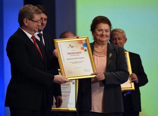 Ombretti Belić Ilijašić Hrvatska turistička nagrada za životno djelo