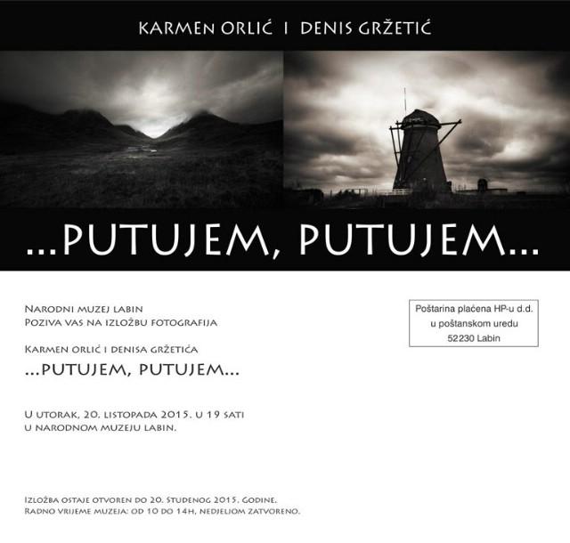 U Narodnom muzeju Labin izložba fotografija `...putujem,putujem...` Karmen Orlić i Denisa Gržetića