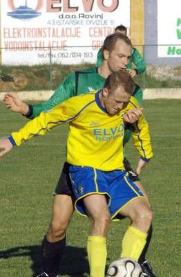 Prijateljska nogometna utakmica: Rovinj - Rudar 3:1