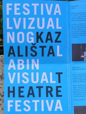 Festival vizualnog kazališta ovog vikenda u Labinu