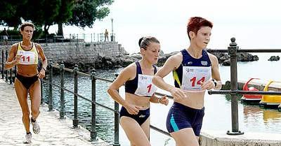 """Na prvom polumaratonu za žene """"Opatija 2008"""", Barbara Belušić peta"""