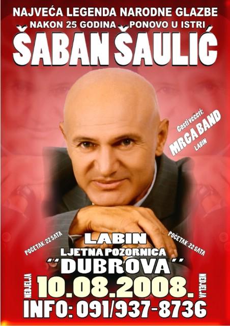 Šaban Šaulić održat će koncert na Dubrovi
