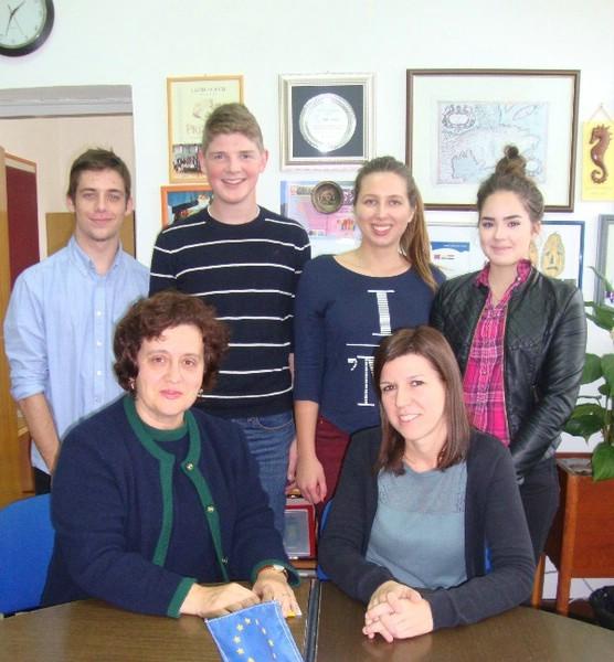 "Srednja škola Mate Blažine Labin dobitnica KA2 Erasmus+ projekta ""Green school"""