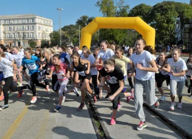 Labinske atletičarke nastupile na utrci `Dan Uljanika`