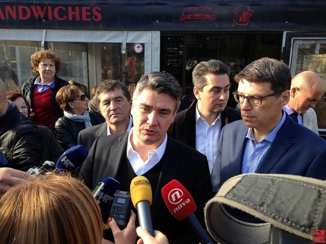 Zoran Milanović jutros se na tržnici družio s građanima