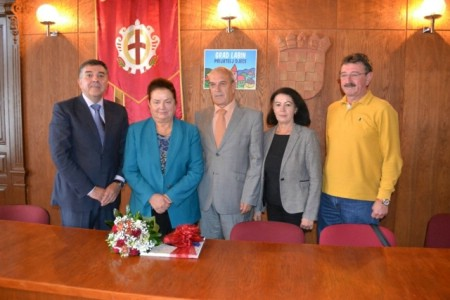 Gradonačelnik primio Ombrettu Belić Ilijašić, dobitnicu nagrade HTZ- a za životno djelo