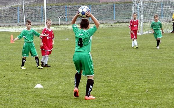 Uspješni mali nogometaši škole nogometa