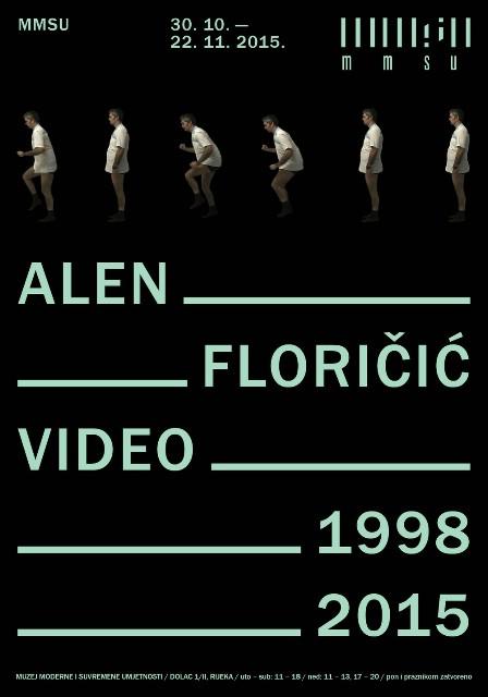 Izložba Alena Floričića ` Video 1998.-2015.` u MMSU u Rijeci