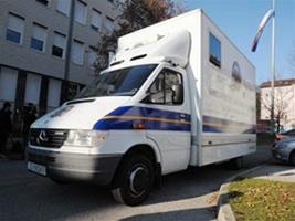 Obavijest o prijenosnom šalteru MUP-a u Kršanu
