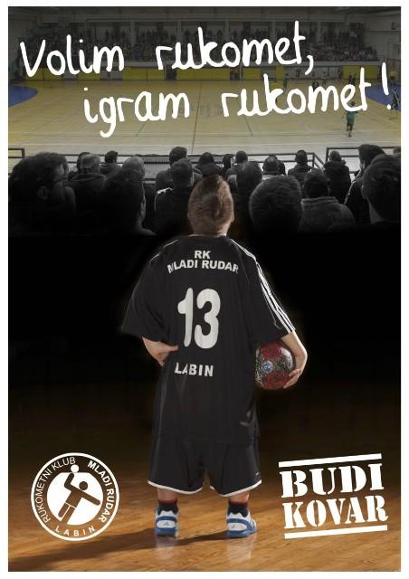 Sutra 9. Manifestacija VOLIM RUKOMET - IGRAM RUKOMET u labinskoj sportskoj dvorani