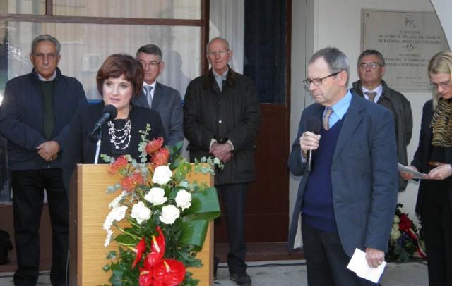 Općina Raša: Postavljena spomen-ploča poginulim rudarima