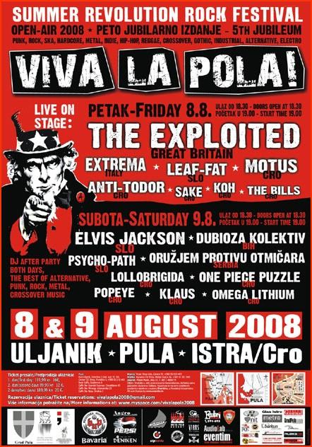 U petak započinje Viva La Pola! 2008