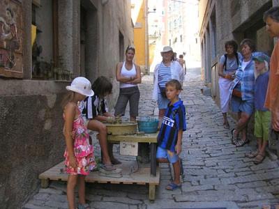 Labinski keramičari na švedskoj TV