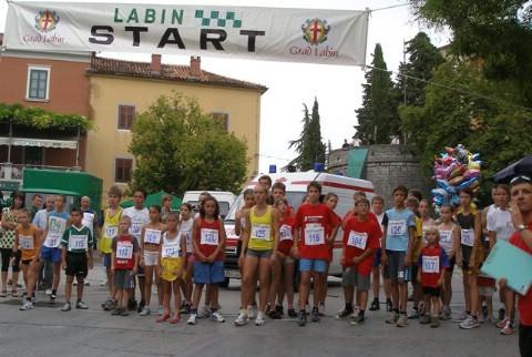 Dvanaesta atletska ulična utrka Grada Labina