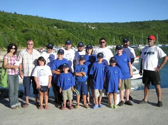 Mala škola ribolova, U16 brodica, povodom fešte  na Trgetu