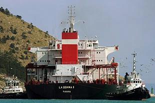 Završen očevid na brodu La Donna I u Plomin luci