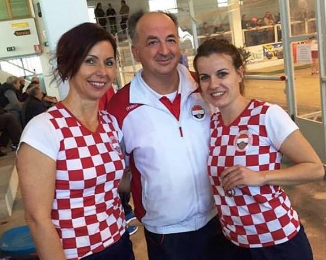 Labinska boćarica Tanja Grubiša europska viceprvakinja u parovima