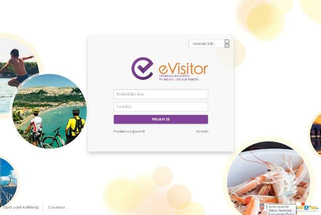 Od iduće godine prijava turista samo uz eVisitor