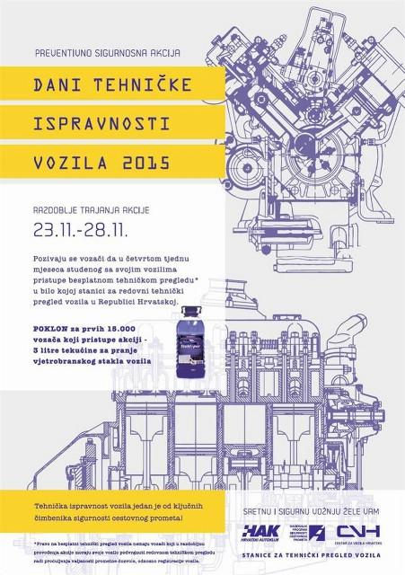 Dani tehničke ispravnosti vozila 2015