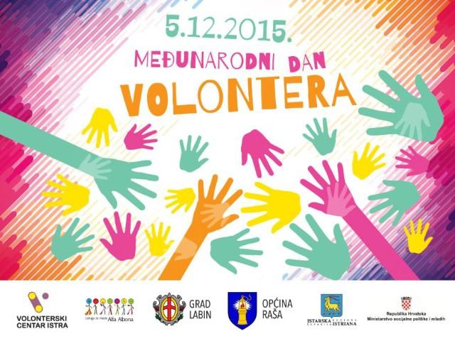 Obilježavanje Međunarodnog dana volontera u Labinu i Raši