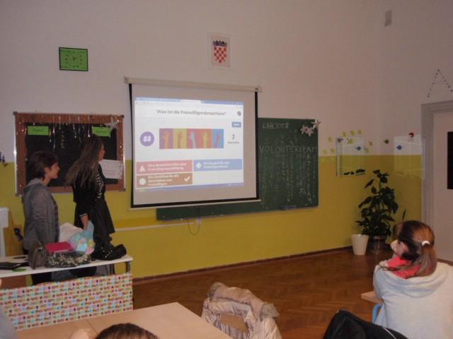 U osnovnoj školi u Raši obilježen Međunarodni dan volonterstva